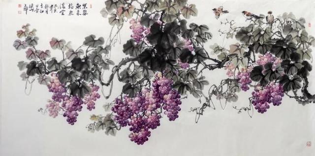 Ink Wash Painting and Grief 「線は、僕を描く」(Sen wa Boku wo Egaku) Grapes