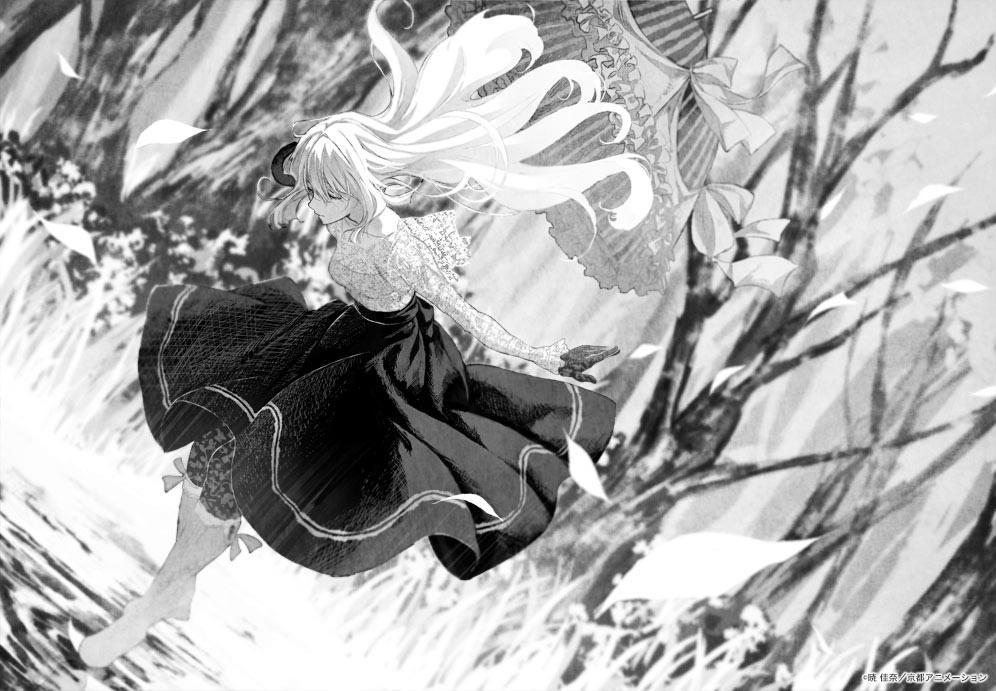 ヴァイオレット・エヴァーガーデン Violet Evergarden light novel illustration