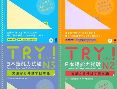 Try! JLPT Grammar Book