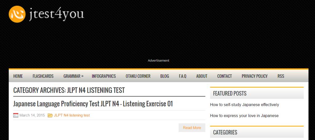 Passing JLPT N5 N4 Listening jtest4you