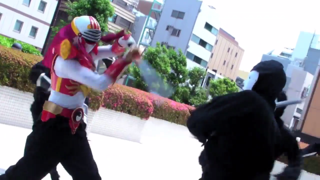 Making Movies in Japan Cyber Ninja Tekkaraiger Tokusatsu