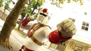 Making Movies in Japan Cyber Ninja Tekkaraiger Tokusatsu