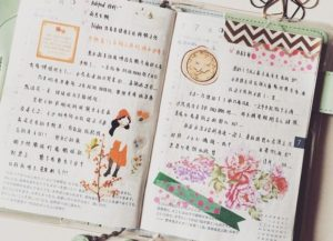 Daily Diary in Japanese