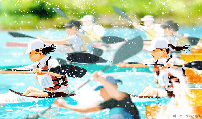 Slice of Rowing Life 君と漕ぐ(Kimi to Kogu)